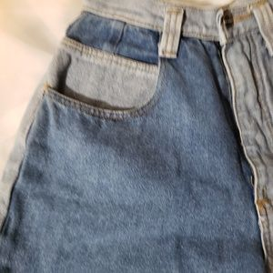 crayon Shorts - Mixed denim crayon brand Jean shorts high wasited